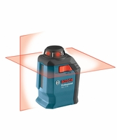 BOSCH GLL2-20 360-degree Self-Leveling Line & Cross Laser
