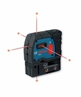 BOSCH GPL5 Self-Leveling 5-Point Laser