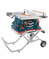 """BOSCH Power Tools GTS1041A-09 10"""" REAXX Jobsite Table Saw w/Gravity Rise Stand"""