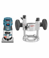 BOSCH PR20EVSPK -1 HP Colt Variable Speed Electronic Palm Router Combination Kit