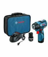 "BOSCH PS82-02 - 12V MAX EC Brushless 3/8"" Impact Wrench Kit"