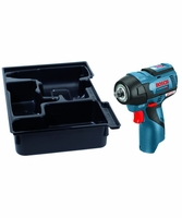 "BOSCH PS82BN - 12V MAX EC Brushless 3/8"" Impact Wrench w/Exact-Fit Insert Tray"