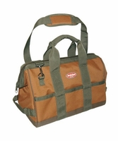 Bucket Boss 60016 GateMouth 16 Tool Bag w/ 16 Pockets, Super-Wide Opening