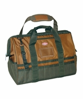 Bucket Boss 60020 Gatemouth 20 Tool Bag w/ 36 Pockets, Super-Wide Opening
