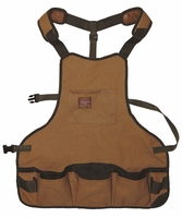 Bucket Boss 80200 Duckwear Heavy-Duty SuperBib Apron - 16 Pockets