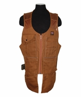 Bucket Boss 80400 Duckwear S/M SuperVest 18 oz. Canvas, Mesh Shoulder