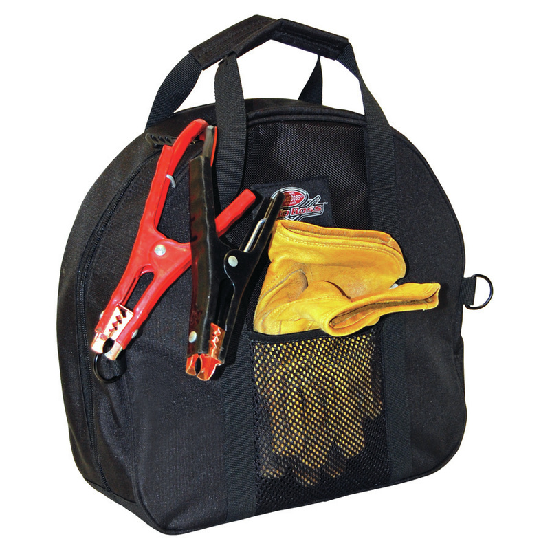 Jumper Cable Bag : Bucket boss ab auto jumper cable bag