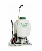 Chapin 62000 Tree/Turf Pro Commercial Backpack Sprayer Brass Wand - 4 Gal