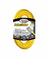 Coleman Cable 01688 50' Polar/Solar TPrene Insul. Cord w/ Power Indicator Light