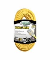 Coleman Cable 01689 100' Polar/Solar TPrene Insul. Cord w/ Power Indicator Light