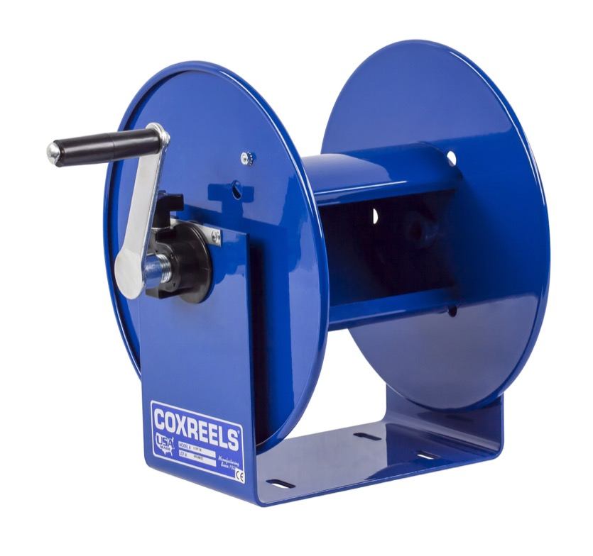 Coxreels p compact hand crank breathing air hose