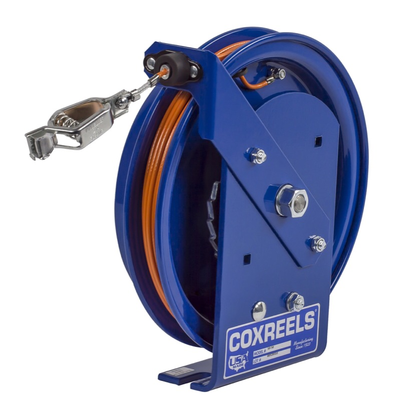 Coxreels sd spring driven static discharge stainess