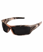 EDGE Eyewear SR116CF Reclus - Forest Camo Frame, Smoke Lens Safety Glasses