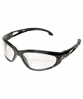 EDGE Eyewear SW111VS Dakura - Black / Clear Vapor Shield Safety Glasses