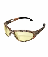 EDGE Eyewear SW112CF Dakura - Camo Frame,  Yellow Lens Safety Glasses