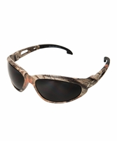 EDGE Eyewear SW116CF Dakura - Camo Frame, Smoke Lens Safety Glasses