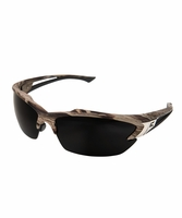 EDGE Eyewear TSDK216CF Khor - Forest Camo Frame, Polarized Smoke Lens Safety Glasses
