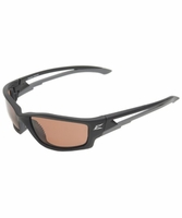 "EDGE Eyewear TSK215 Kazbek - Black / Polarized Copper ""Driving"" Safety Glasses"