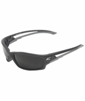 EDGE Eyewear TSK216 Kazbek - Black / Polarized Smoke Safety Glasses