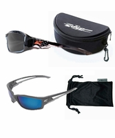 EDGE Eyewear TSKXB Polarized 2 Pack with 1 Hard Case & Soft Case