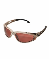 EDGE Eyewear TSM215CF Dakura - Camo Frame, Polarized Copper Lens Safety Glasses