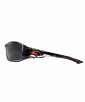 EDGE Eyewear TXB216-P1 Brazeau Patriot 1 - Black/American Flag / Polarized