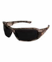 EDGE Eyewear TXB216CF Brazeau - Forest Camo Frame, Polarized Smoke Lens Safety Glasses