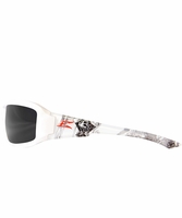 EDGE Eyewear TXB246-C2 Brazeau Velocity 2 - White/Black Polarized Safety Glasses