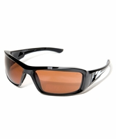 "EDGE Eyewear XB115 Brazeau - Black / Copper ""Driving"" Safety Glasses"