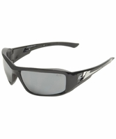 EDGE Eyewear XB117 Brazeau - Black / Silver Mirror Safety Glasses