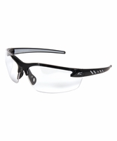 EDGE Eywear DZ111VS-G2 Zorge G2 - Black Frame, Clear Vapor Shield Safety Glasses