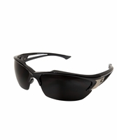 EDGE Eyewear SDK116 Khor - Black Frame, Smoke Lens Safety Glasses
