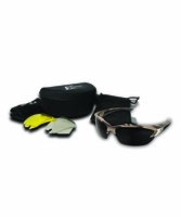 EDGE Eyewear TSDK21CK Khor Forest Camo Kit - Polarized, Yellow & Anti-Reflective
