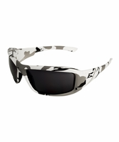 EDGE Eywear XB116-AC Brazeau - Arctic Camo Frame, Smoke Lens Safety Glasses