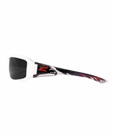 EDGE Eywear XB146-P2 Brazeau Designer, Eagle Frame, Smoke Lens Safety Glasses