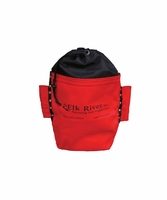 "Elk River 84521 Bolt Bag, drawstring, belt tunnel, tool loops, 2.5"" x 10"" x 9"""
