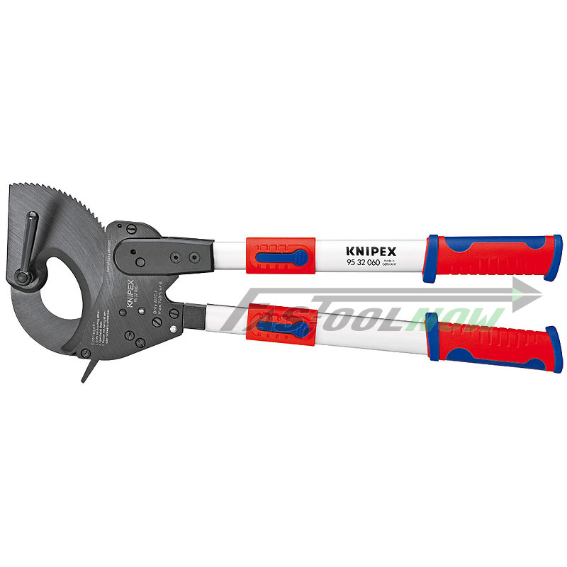 Knipex 9532060 25 Quot Ratchet Action Cable Cutter W