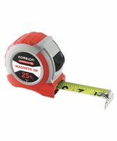 KOMELON 73425 Magnetic ABS Power Blade II 25ft. Tape Measure