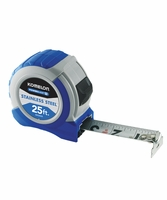 KOMELON SS52425 Stainless ABS Power Blade II 25ft. Tape Measure