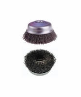"Osborn 32134 4"" Crimped Wire Cup Brush .020 x 5/8-11 AH"