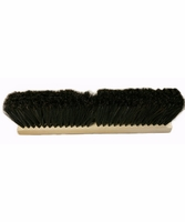 Osborn 52007 Black Horsehair Fine Sweeping Brush - Brush Only