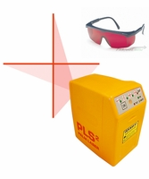 Pacific Laser Systems PLS2 Palm Laser 2-Beam Level with Red Laser Glasses