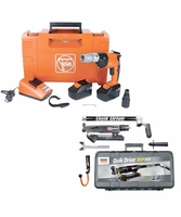 QuikDrive FEASCS63-KIT Auto-Feed Cordless Drill w/Free Metal Roofing System