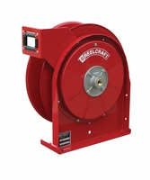"Reelcraft 5605-OMP 3/8"" x 35' Spring Retractable Hose Reel, 3000 PSI No Hose"
