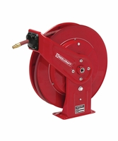 "Reelcraft 7640-OLP 3/8"" x 40' Spring Retractable Hose Reel, 300 PSI w/ Hose"