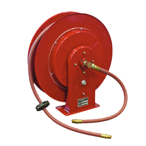 retractable air hose reel reelcraft 7850 clp 1 2 quot x50 series 7000 c retractable hose 29036