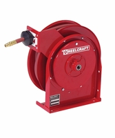 Reelcraft B4425-OLP 1/4 x 25ft, 300 psi, Spring Retractable Air/Water with Hose