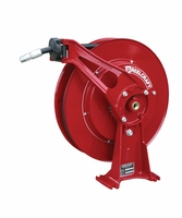 "Reelcraft D8440-OHP 1/4"" x 40' Ultimate Duty Spring Retractable Reel, 5000 PSI w/ Hose"