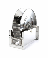 "Reelcraft D9200-OMS-S 1/2"" x 75' Ultimate Duty Stainless Hose Reel, 3000 PSI No Hose"