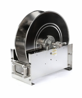 "Reelcraft D9300-OLS 3/4"" x 75' Ultimate Duty Stainless Hose Reel, 500 PSI No Hose"